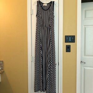NWT Skies Are Blue Stitch Fix striped maxi dress